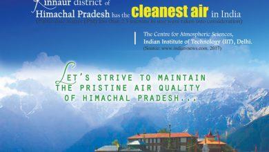 Photo of कोविड में याद आई स्वच्छ हवा..